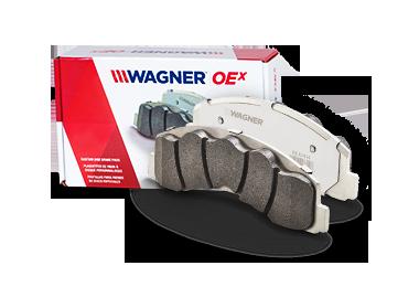 Disc Brake Pad Set-OEX Disc Brake Pad Front Wagner OEX1645