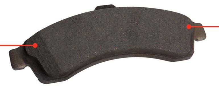 Wagner Brake Pads >> Brake Pad Chamfer Design & Innovation   Wagner Brake