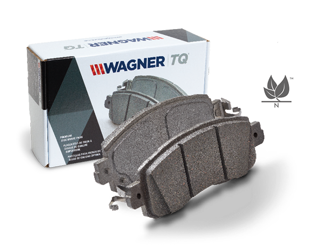 view of tq brake pad by wagner